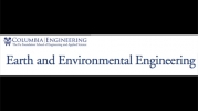 Earth and Environmental Engineering